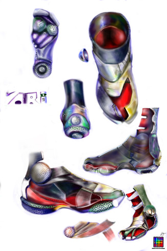 Big Player Shoes (Nike Shoe Designs) by Erick Stow