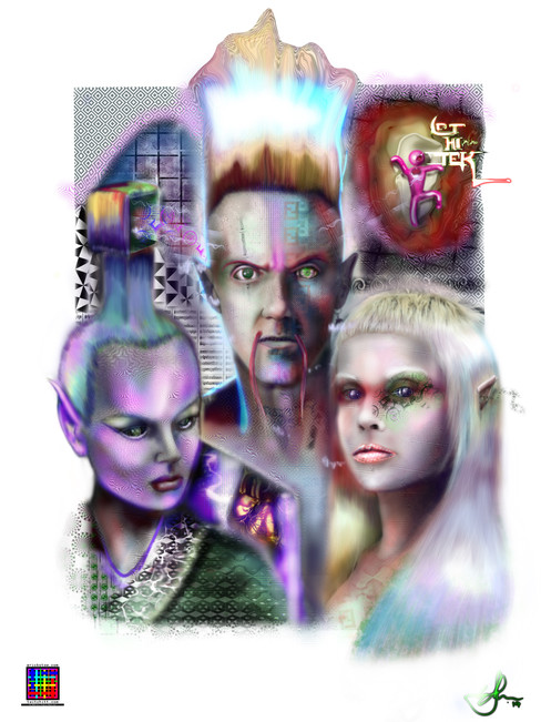 Die Antwoord by Erick Stow