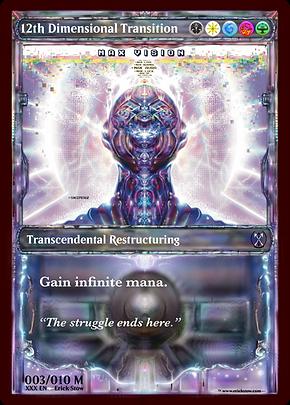 12th Dimensional Transition MTG Card