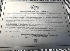 Willy Willams Plaque Manly Surf Club.201