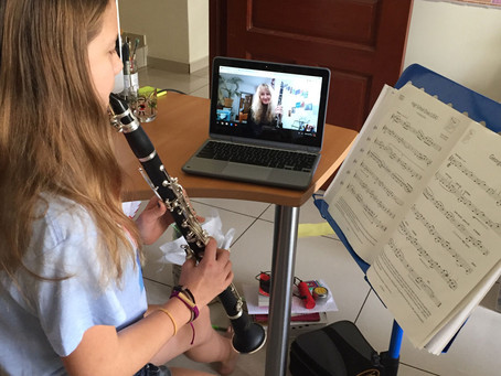 Online Lessons with UWSP Music Education Students