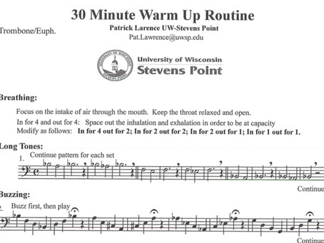 Warm-up Routine