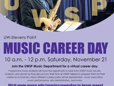 UWSP Music Career Day