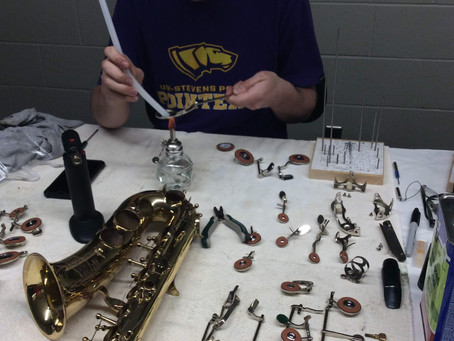 Instrument Repair Classes at UWSP
