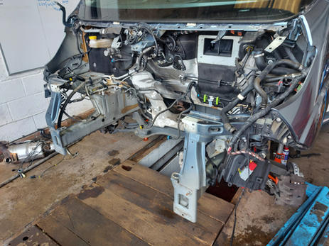 fiat ducato engine removed