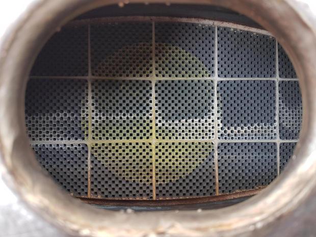 inside of a DPF