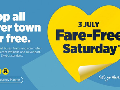 Free PT all day Sat 3 July