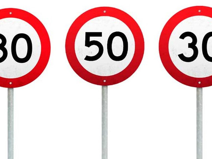 AT's 2021 Speed Limit Changes Proposal