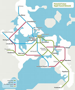 An alternate route for North Shore PT?