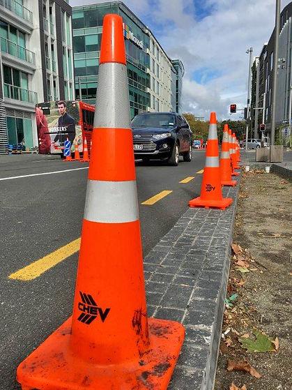 Wynyard quarter traffic management