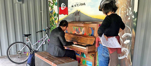 wynyard quarter piano