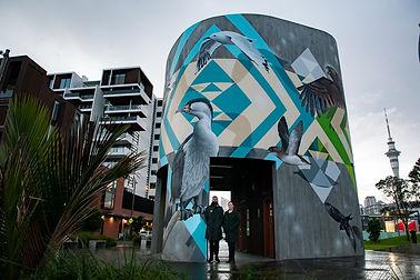 New mural celebrates native birds