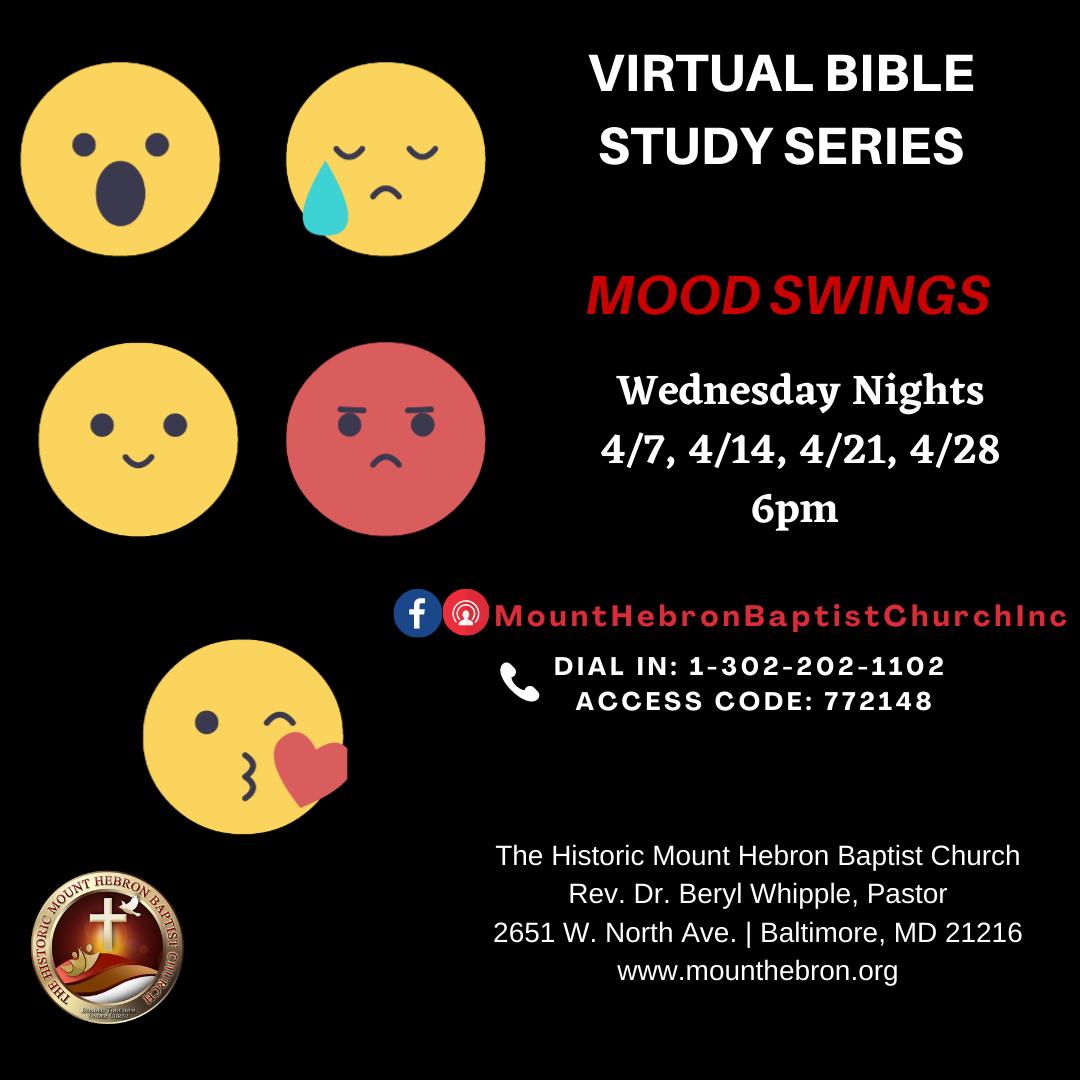 Virtual Bible Study Series - Mood Swings