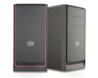 CoolerMaster red Trim MasterBox E300L Mi