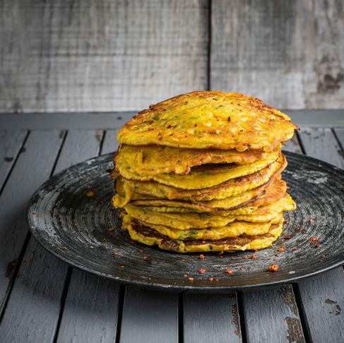 Recipe: Gram Flour Turmeric Pancakes
