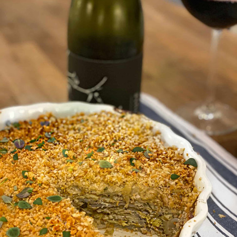 Recipe: Vegan Artichoke Potato Gratin