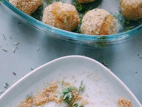 Bolinhas de Frango e Batata-doce