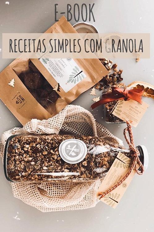 E-book Receitas com Granola