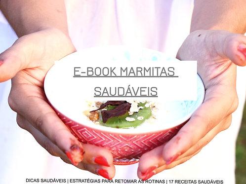 E-book de Marmitas Saudáveis
