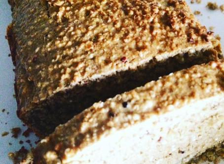 Pão de banana e quinoa