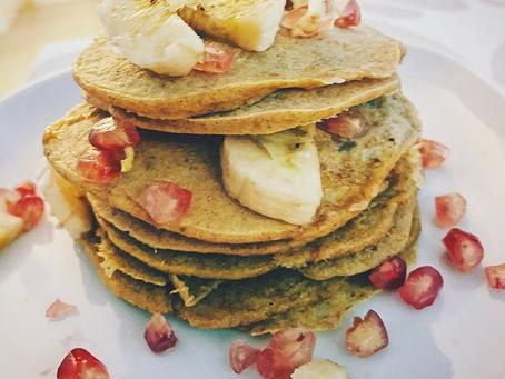 Panquecas de Espelta e erva-doce
