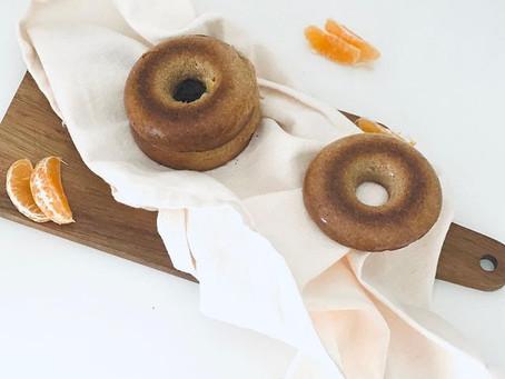 Donuts de Laranja e Canela