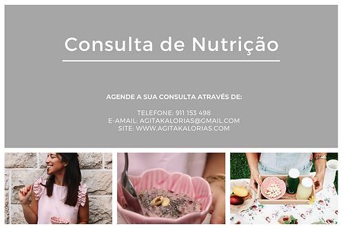 Consulta de Nutrição Inicial
