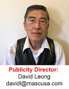 David Leong Publicty Director of the Malaysian Association of Southern California