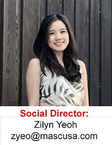 Zilyn Yeoh Social Director of the Malaysian Association of Southern California