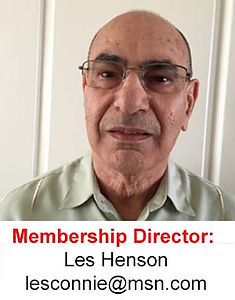 Les Henson of the Membership Director of Malaysian Association of Southern California
