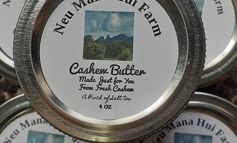 Cashew Butter4 ounces