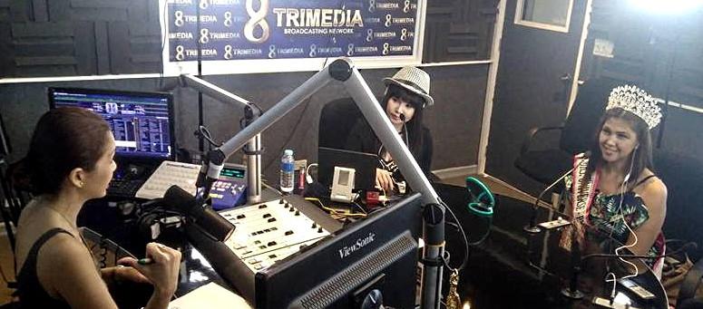 Marilou Tolico Villanueva (Mrs. Universe Philippines) 2017 Radio Guesting at Litrato Philippines