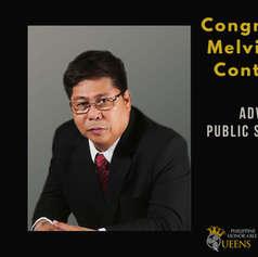 Congressman Melvin Bong Contapay (Advocate Public Service Ally)