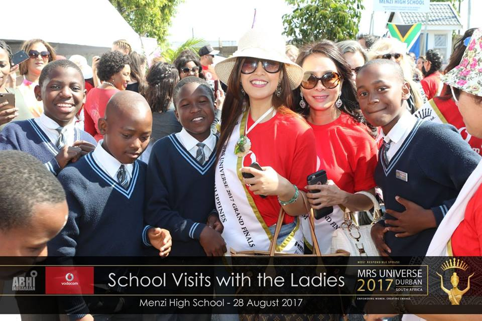 Mrs Universe 2017 in South Africa