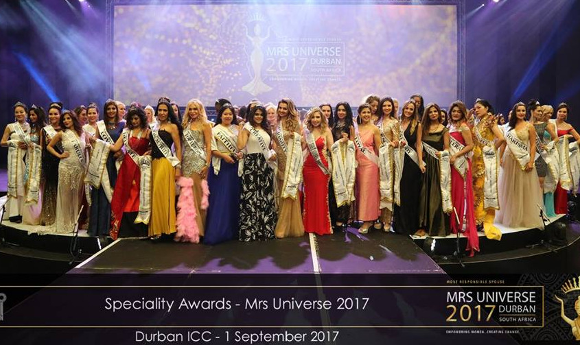 Mrs Universe 2017 Specialty Award