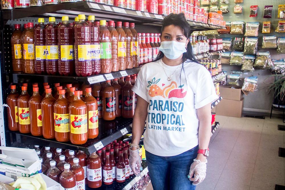 Supervisor Karen Alvarado at Paraiso North.