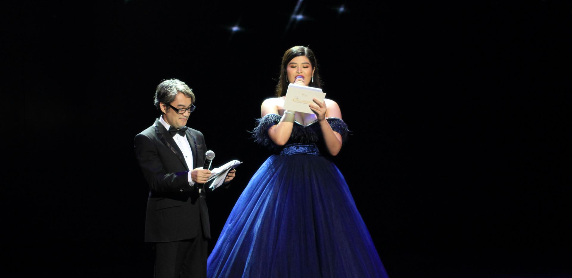 Master of Ceremonies - Jojo Alejar and Mariel de Leon