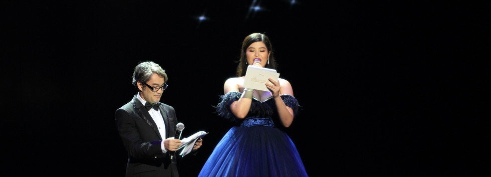 Master of Ceremonies - Jojo Alejar and Mariel de Leon