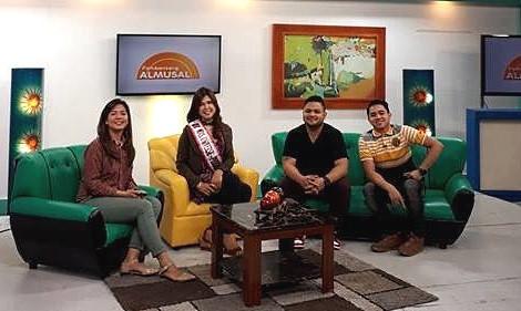 Marilou Tolico Villanueva (Mrs Universe Loyal 2017), NET25 TV Guesting