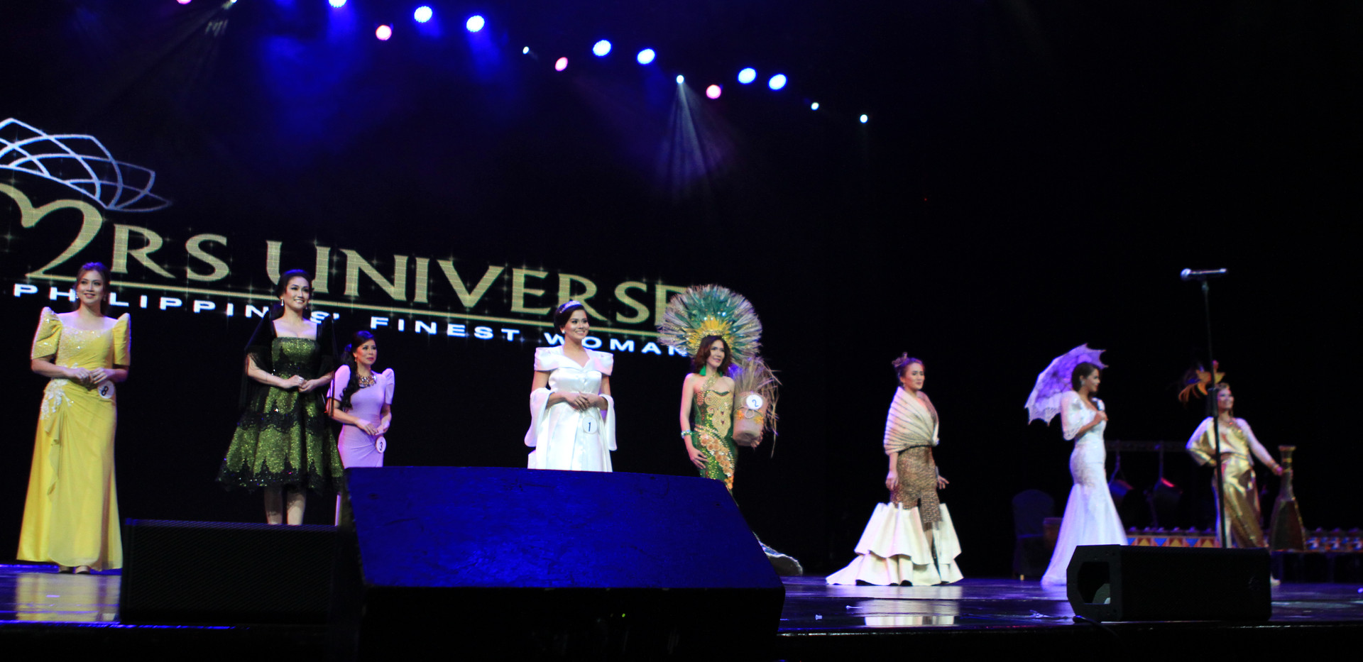 MUPFW in their National Costume