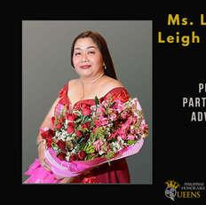 Ms. Laraine Leigh Mirasol (Public Partnership Advocate)