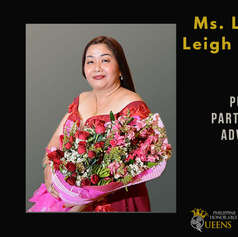 Ms. Laraine Leigh Mirasol (Public Partnership Advocate)