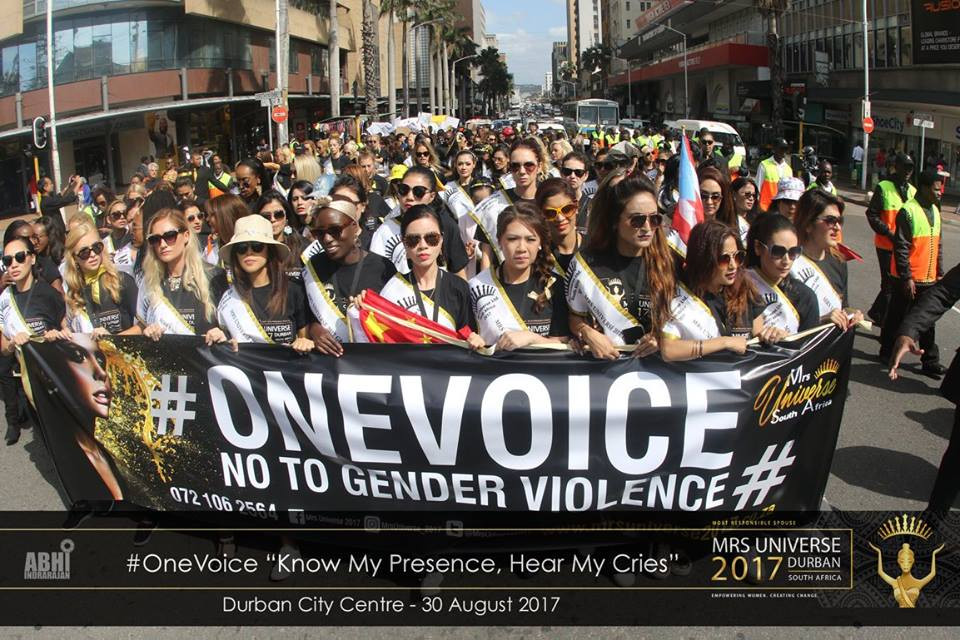 One Voice Campaign at Durban South Africa