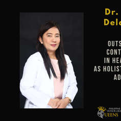Dr. Aisha Dela Cruz (Outstanding Contribution in Health Care as Holistic Wellness Advocate)
