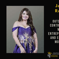 Joyce Ruelos (Outstanding Contribution in Micro-Entrepreneurship and Enterprise Motivator)