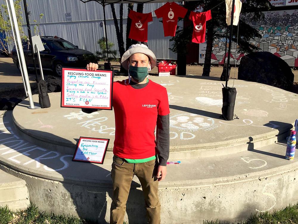 Leftovers Edmonton's City Coordinator Garnet Borch shares what food rescue means.