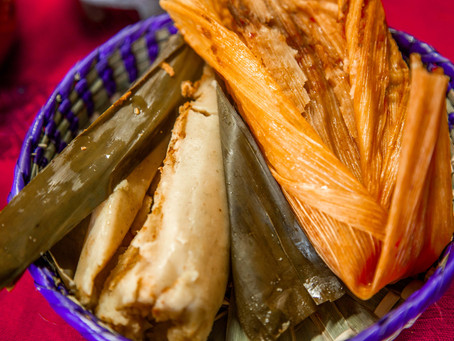 Christmastime means time for tamales