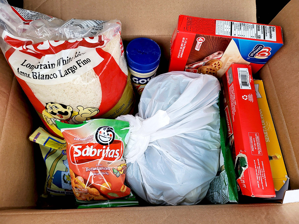 Rescue Food donations from Paraiso Tropical Latin Food Market