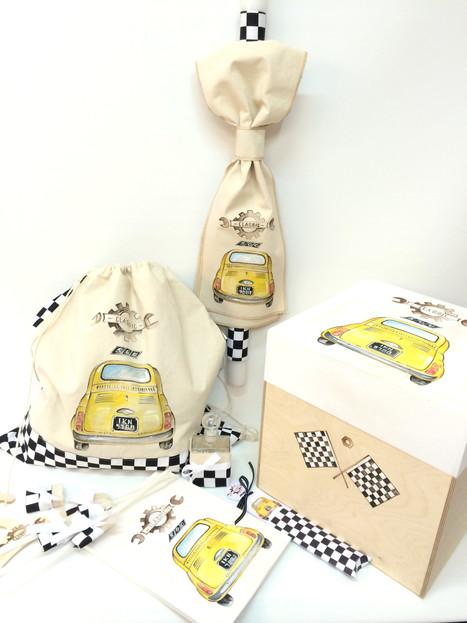 Fiat 500 κίτρινο