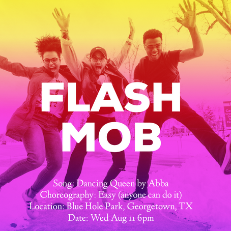 Flash Mob for my 40th